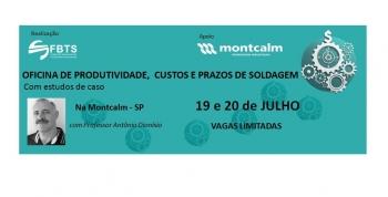 OFICINA DE PRODUTIVIDADE, CUSTOS E PRAZOS DE SOLDAGEM - FBTS